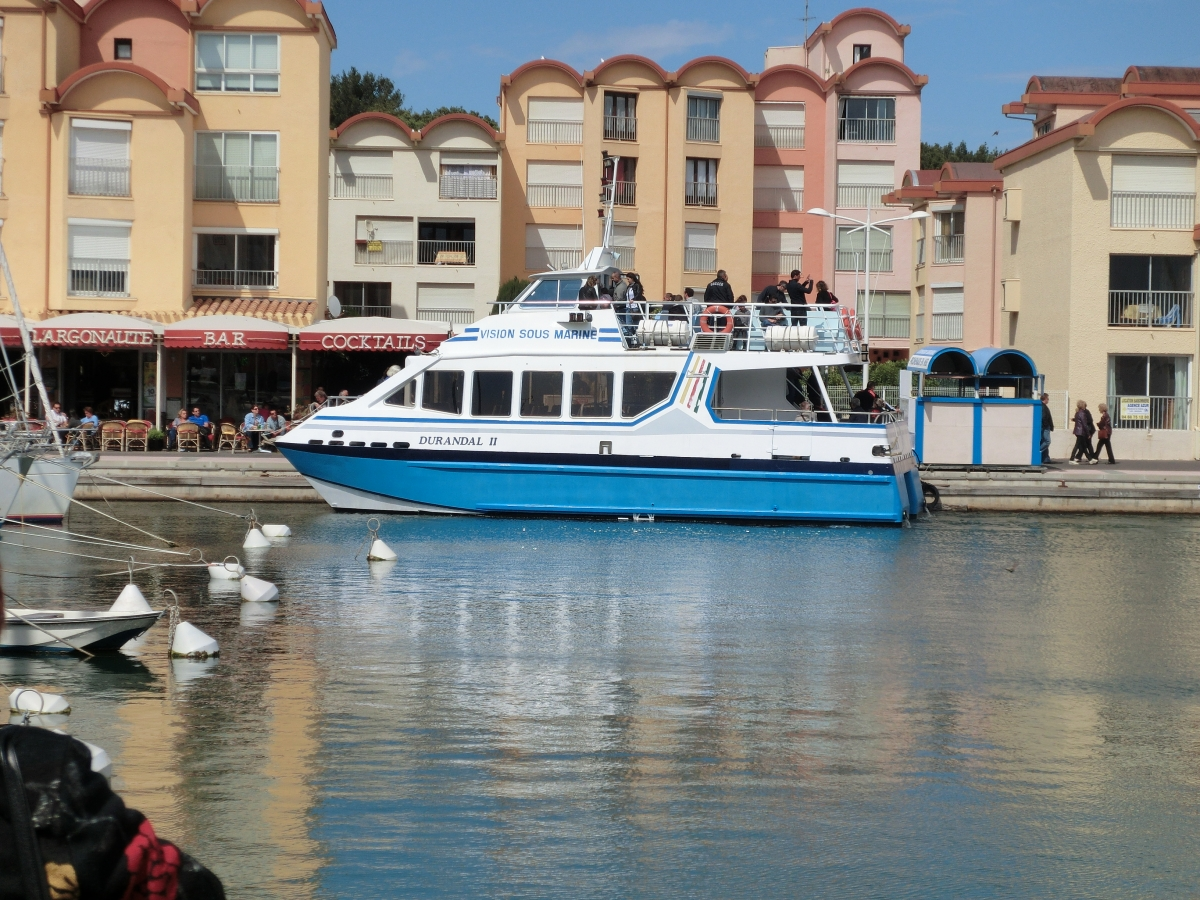 promenade bateau gruissan
